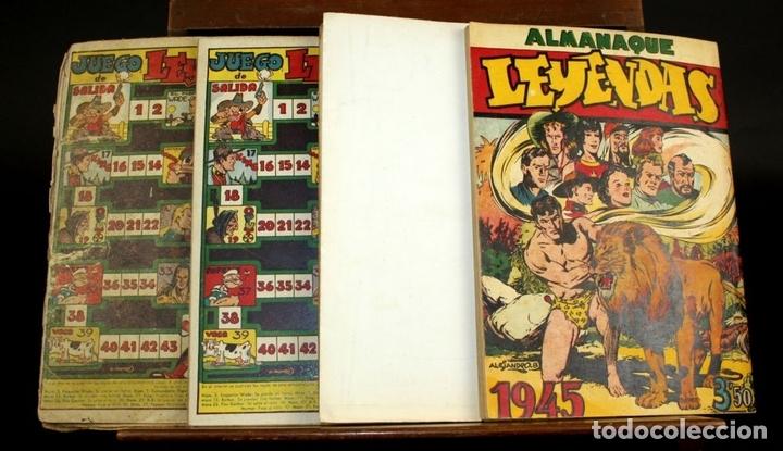 Tebeos: 8062 - EDICIONES HISPANO AMERICANAS. 4 ALMANAQUES(VER DESCRIPCIÓN). 1945/1946. - Foto 12 - 62809772