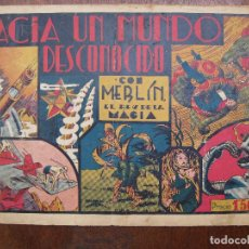 Tebeos: MERLIN - HACIA UN MUNDO DESCONOCIDO - HISPANO AMERICANA. Lote 62946328