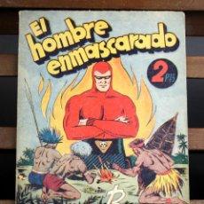 Tebeos: 8077 - EL HOMBRE ENMASCARADO. EXTRAORDINARIO DE REYES. EDIC. HISPANO AMERICANA. . Lote 63092952