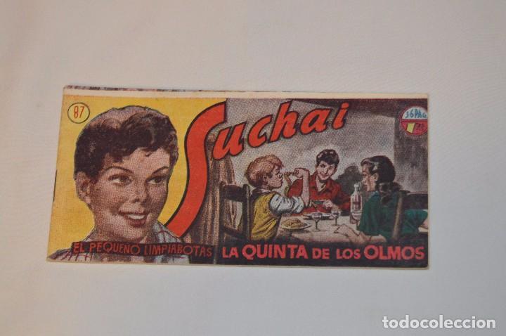 SUCHAI - EL PEQUEÑO LIMPIABOTAS - Nº 87 - MUY ANTIGUO - MIRA LAS FOTOS PARA MÁS DETALLE (Tebeos y Comics - Hispano Americana - Suchai)