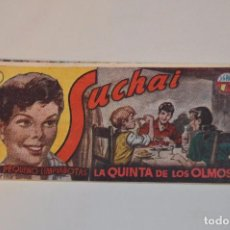 Tebeos: SUCHAI - EL PEQUEÑO LIMPIABOTAS - Nº 87 - MUY ANTIGUO - MIRA LAS FOTOS PARA MÁS DETALLE. Lote 63641451