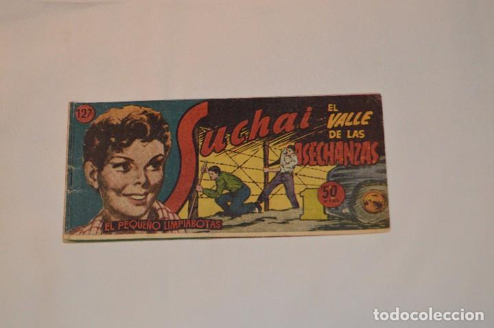 SUCHAI - EL PEQUEÑO LIMPIABOTAS - Nº 127 - MUY ANTIGUO - MIRA LAS FOTOS PARA MÁS DETALLE (Tebeos y Comics - Hispano Americana - Suchai)