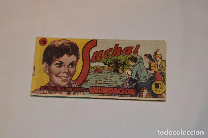 SUCHAI - EL PEQUEÑO LIMPIABOTAS - Nº 130 - MUY ANTIGUO - MIRA LAS FOTOS PARA MÁS DETALLE (Tebeos y Comics - Hispano Americana - Suchai)