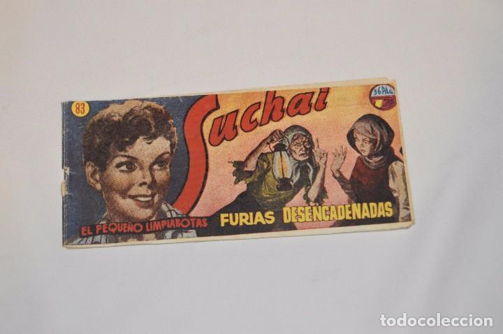 SUCHAI - EL PEQUEÑO LIMPIABOTAS - Nº 83 - MUY ANTIGUO - MIRA LAS FOTOS PARA MÁS DETALLE (Tebeos y Comics - Hispano Americana - Suchai)