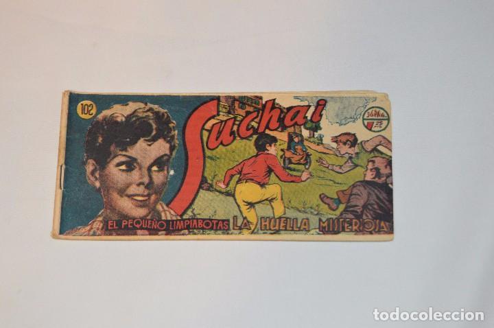 SUCHAI - EL PEQUEÑO LIMPIABOTAS - Nº 102 - MUY ANTIGUO - MIRA LAS FOTOS PARA MÁS DETALLE (Tebeos y Comics - Hispano Americana - Suchai)