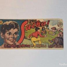 Tebeos: SUCHAI - EL PEQUEÑO LIMPIABOTAS - Nº 102 - MUY ANTIGUO - MIRA LAS FOTOS PARA MÁS DETALLE. Lote 63642631