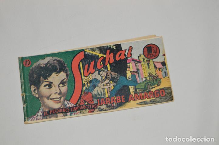 SUCHAI - EL PEQUEÑO LIMPIABOTAS - Nº 110 - MUY ANTIGUO - MIRA LAS FOTOS PARA MÁS DETALLE (Tebeos y Comics - Hispano Americana - Suchai)