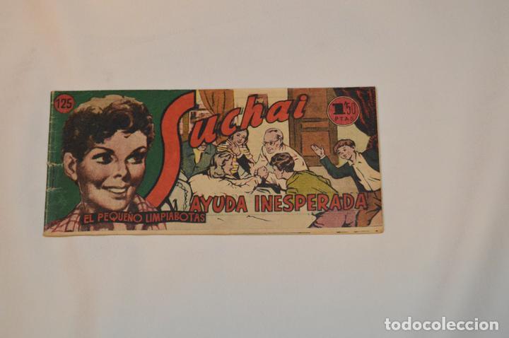 SUCHAI - EL PEQUEÑO LIMPIABOTAS - Nº 125 - MUY ANTIGUO - MIRA LAS FOTOS PARA MÁS DETALLE (Tebeos y Comics - Hispano Americana - Suchai)