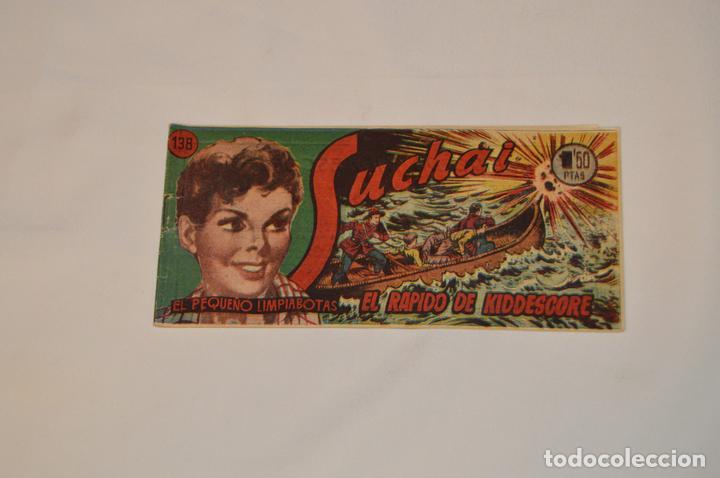 SUCHAI - EL PEQUEÑO LIMPIABOTAS - Nº 138 - MUY ANTIGUO - MIRA LAS FOTOS PARA MÁS DETALLE (Tebeos y Comics - Hispano Americana - Suchai)