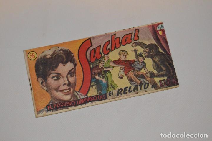 SUCHAI - EL PEQUEÑO LIMPIABOTAS - Nº 58 - MUY ANTIGUO - MIRA LAS FOTOS PARA MÁS DETALLE (Tebeos y Comics - Hispano Americana - Suchai)