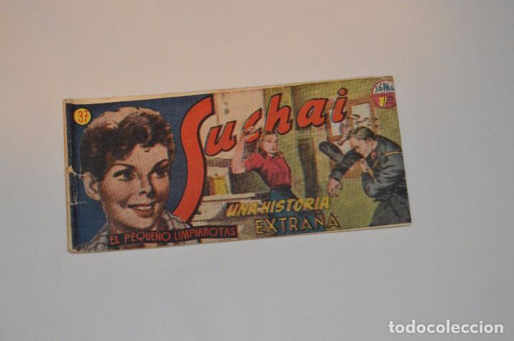 SUCHAI - EL PEQUEÑO LIMPIABOTAS - Nº 37 - MUY ANTIGUO - MIRA LAS FOTOS PARA MÁS DETALLE (Tebeos y Comics - Hispano Americana - Suchai)