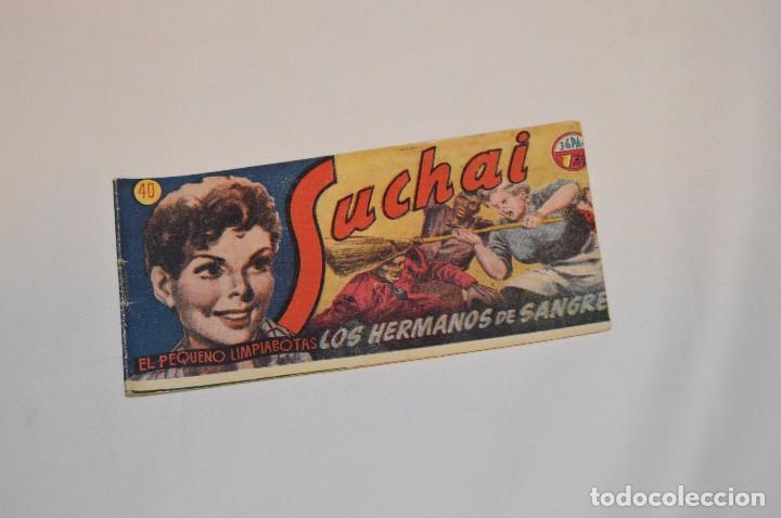 SUCHAI - EL PEQUEÑO LIMPIABOTAS - Nº 40 - MUY ANTIGUO - MIRA LAS FOTOS PARA MÁS DETALLE (Tebeos y Comics - Hispano Americana - Suchai)
