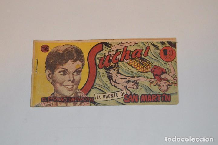SUCHAI - EL PEQUEÑO LIMPIABOTAS - Nº 159 - MUY ANTIGUO - MIRA LAS FOTOS PARA MÁS DETALLE (Tebeos y Comics - Hispano Americana - Suchai)