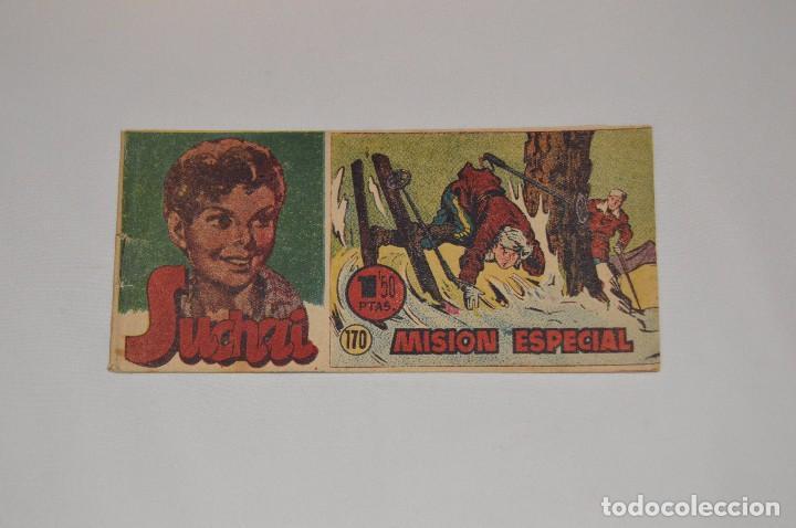 SUCHAI - EL PEQUEÑO LIMPIABOTAS - Nº 170 - MUY ANTIGUO - MIRA LAS FOTOS PARA MÁS DETALLE (Tebeos y Comics - Hispano Americana - Suchai)
