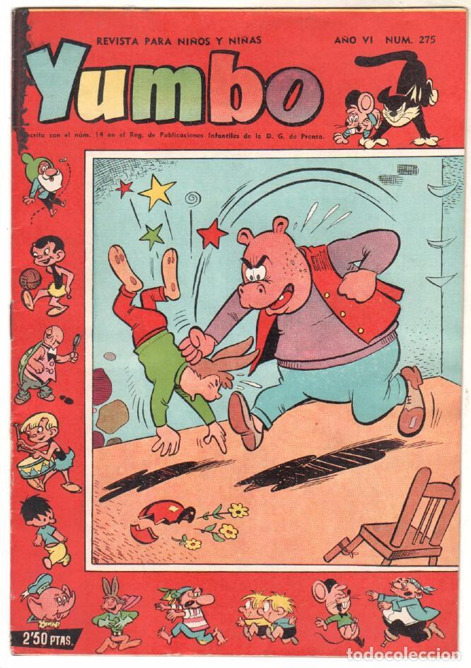 YUMBO ORIGINAL Nº 275 EDI. CLIPER - BILLY Y BUMBLE - NICOTIN - POPEYE - CONEJITO ATÓMICO, - CONCHIT (Tebeos y Comics - Hispano Americana - Yumbo)