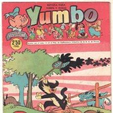 Tebeos: YUMBO ORIGINAL Nº 257 EDI. CLIPER 1958 - POPEYE - BILLY Y BUMBLE - CONEJITO ATÓMICO - NICOTIN-. Lote 64415299