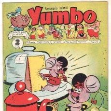 Tebeos: YUMBO ORIGINAL Nº 58 EDI. CLIPER 1958 - CONEJITO ATÓMICO - NICOTIN - TUTI - LUISITA Y FERNANDO. Lote 64415923