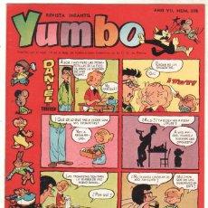 Tebeos: YUMBO ORIGINAL Nº 338 EDI. CLIPER 1958 - MUY DIFICIL. Lote 64416479