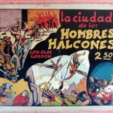 Tebeos: FLAS GORDON , LA CIUDAD DE LOS HOMBRES HALCONES, HISPANO AMERICANA , ORIGINAL , H. Lote 65789198