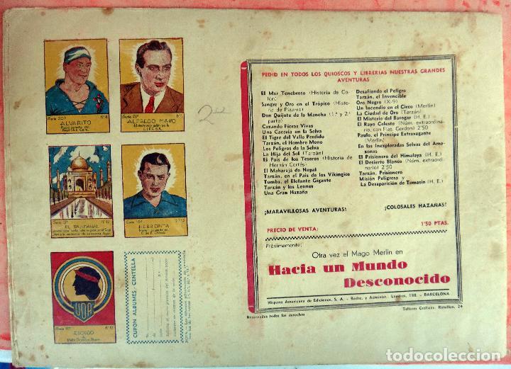 Tebeos: FLAS GORDON , LA CIUDAD DE LOS HOMBRES HALCONES, HISPANO AMERICANA , ORIGINAL , H - Foto 2 - 65789198
