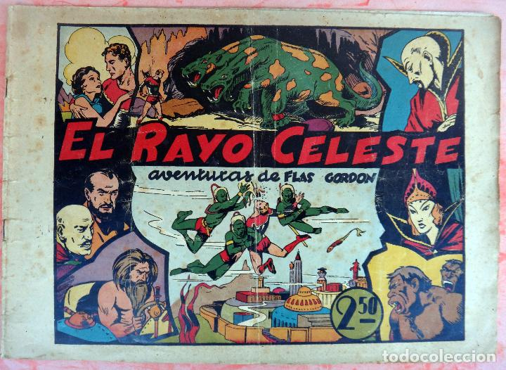 FLAS GORDON , EL RAYO CELESTE , HISPANO AMERICANA , ORIGINAL , H (Tebeos y Comics - Hispano Americana - Flash Gordon)