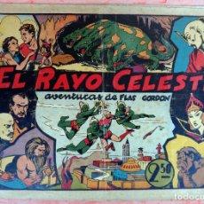 Tebeos: FLAS GORDON , EL RAYO CELESTE , HISPANO AMERICANA , ORIGINAL , H. Lote 65790218