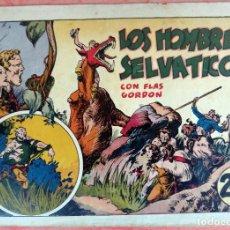 Tebeos: FLAS GORDON , LOS HOMBRES SELVATICOS , HISPANO AMERICANA , ORIGINAL , H. Lote 65791086