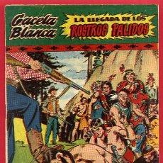 Tebeos: GACELA BLANCA Nº 8 , HISPANO AMERICANA , ORIGINAL , J. Lote 66441654