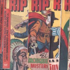 Tebeos: RIP KIRBY ORIGINAL HISPANO AMERICANA 1947 - LOTE 1 AL 5 - 7 AL 10 ,MERLIN,KING,FLASH GORDON,TARZAN,J. Lote 66872634
