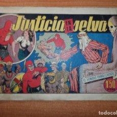 Tebeos: EL HOMBRE ENMASCARADO Nº 26 JUSTICIA EN LA SELVA HISPANO AMERICANA ORIGINAL. Lote 66962162