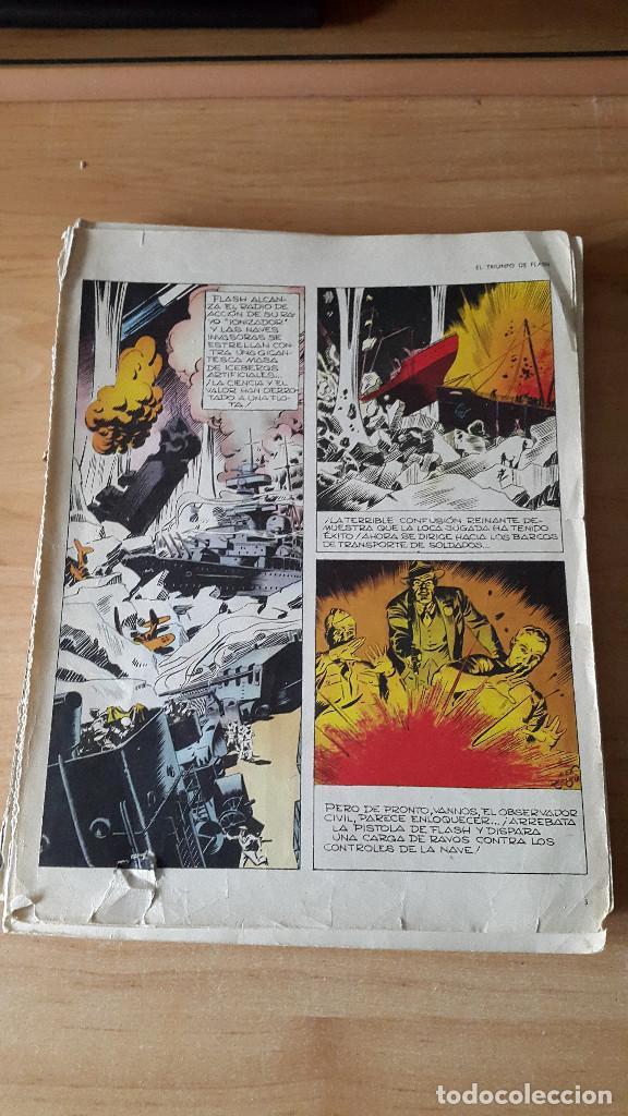Tebeos: 2 comics flash gordon - el tirano de mongo y el triunfo de flash (ver fotos y leer descripcion) - Foto 2 - 67082865