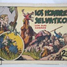 Tebeos: ANTIGUO CÓMIC - LOS HOMBRES SELVÁTICOS CON FLASH GORDON - HISPANO AMERICANA, AÑOS 40. Lote 67293385