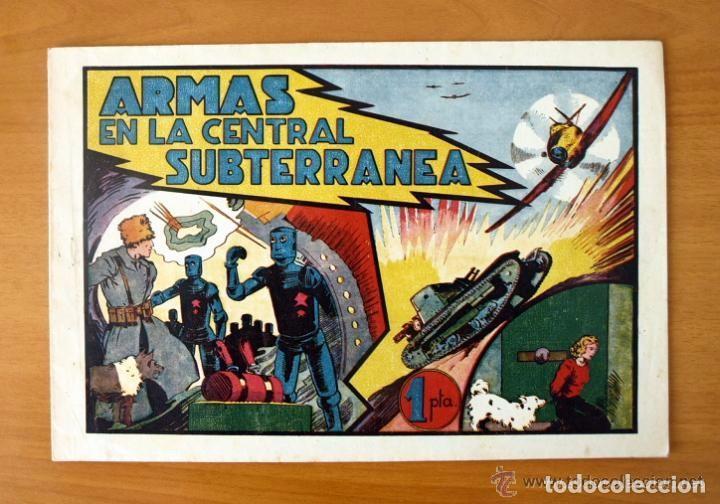 ARMAS EN LA CENTRAL SUBTERRÁNEA - ALBUMES PREFERIDOS PARA LA JUVENTUD Nº 4 - HISPANO AMERICANA 1942 (Tebeos y Comics - Hispano Americana - Otros)