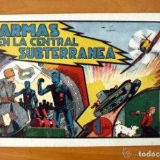 Tebeos: ARMAS EN LA CENTRAL SUBTERRÁNEA - ALBUMES PREFERIDOS PARA LA JUVENTUD Nº 4 - HISPANO AMERICANA 1942. Lote 67308369