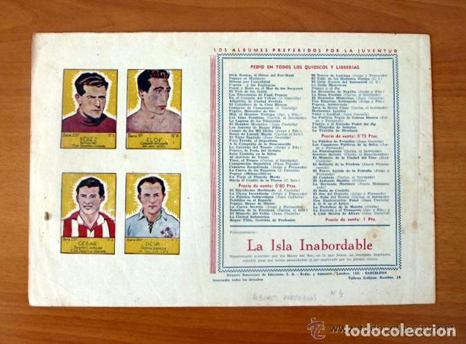 Tebeos: Armas en la central subterránea - Albumes preferidos para la juventud nº 4 - Hispano Americana 1942 - Foto 2 - 67308369