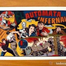 Tebeos: AUTÓMATA INFERNAL - LAS GRANDES AVENTURAS DE 1,50 Nº 5 - HISPANO AMERICANA 1941. Lote 67308801
