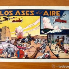 Tebeos: LOS ASES DEL AIRE - ALBUMES PREFERIDOS PARA LA JUVENTUD Nº 9 - HISPANO AMERICANA 1942. Lote 67310253
