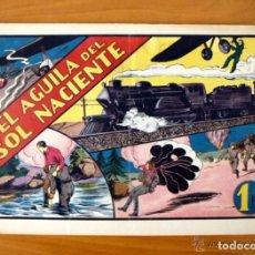 Tebeos: EL AGUILA DEL SOL NACIENTE - ALBUMES PREFERIDOS PARA LA JUVENTUD Nº 7 - HISPANO AMERICANA 1942. Lote 67310689