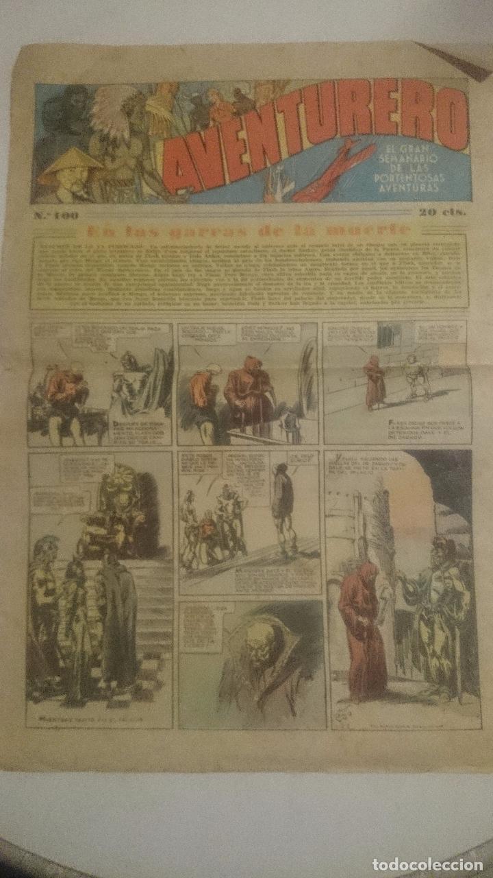 AVENTURERO Nº 100 EDITORIAL HISPANO AMERICANA 1935.DA (Tebeos y Comics - Hispano Americana - Aventurero)