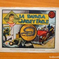 Tebeos: DICK TORO, Nº 8 LA BATALLA DE VALLEY FALLS - EDITORIAL HISPANO AMERICANA 1946. Lote 67468645