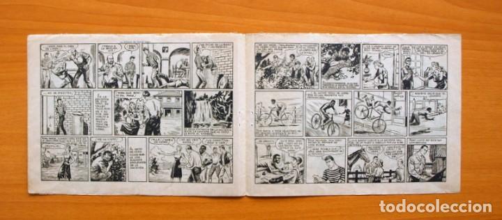 Tebeos: Dick Toro, nº 8 La batalla de Valley Falls - Editorial Hispano Americana 1946 - Foto 3 - 67468645