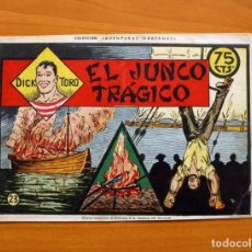 Tebeos: DICK TORO, Nº 23 EL JUNCO TRÁGICO - EDITORIAL HISPANO AMERICANA 1946. Lote 67470865