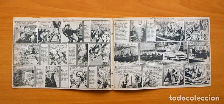 Tebeos: Dick Toro, nº 23 El junco trágico - Editorial Hispano Americana 1946 - Foto 3 - 67470865