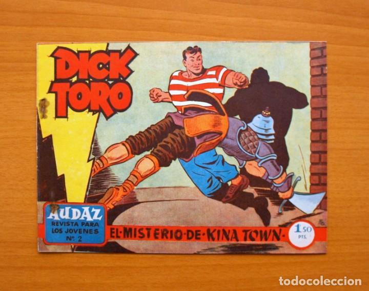 DICK TORO (2ª ÉPOCA) Nº 2 EL MISTERIO DE KINA TOWN - EDITORIAL HISPANO AMERICANA 1961 (Tebeos y Comics - Hispano Americana - Otros)
