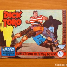 Tebeos: DICK TORO (2ª ÉPOCA) Nº 2 EL MISTERIO DE KINA TOWN - EDITORIAL HISPANO AMERICANA 1961. Lote 67471573