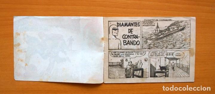 Tebeos: El hombre enmascarado, nº 29 Diamantes de contrabando - Editorial Hispano Americana 1952 - Foto 2 - 67472569