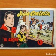 Tebeos: JUAN CENTELLA, Nº 31 EL AZOTE - EDITORIAL HISPANO AMERICANA 1955. Lote 67473013