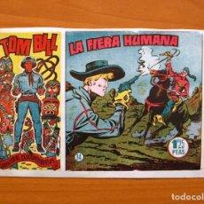 Tebeos: TOM BILL, Nº 34 LA FIERA HUMANA - EDITORIAL HISPANO AMERICANA 1954. Lote 67477457