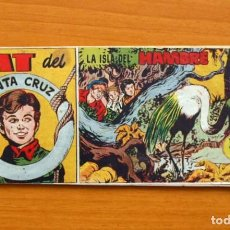 Tebeos: NAT DEL SANTA CRUZ, Nº 3 LA ISLA DEL HAMBRE - EDITORIAL HISPANO AMERICANA 1951. Lote 67478773