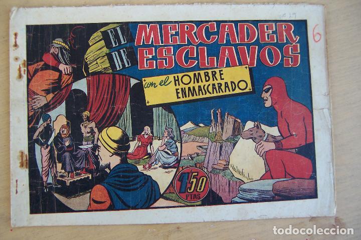 HISPANO AMERICANA, LOTE HOMBRE ENMASCARADO, VER (Tebeos y Comics - Hispano Americana - Hombre Enmascarado)